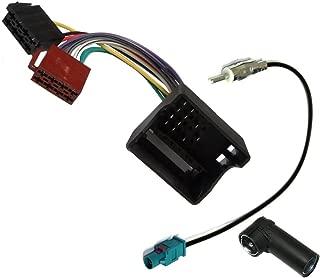 AERZETIX Adaptador ISO hembra para antena autoradio de coche vehiculos C11984