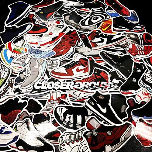 Basketbal Schoenen Stickers Koffer Skateboard Gitaar Koffer Schoenkast Wanddecoratie Stickers Auto Stickers 60