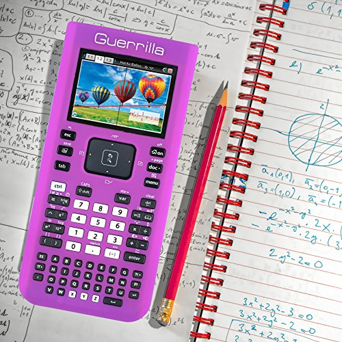 Guerrilla Silicone Case for Texas Instruments TI Nspire CX/CX CAS Graphing Calculator, Purple Photo #8