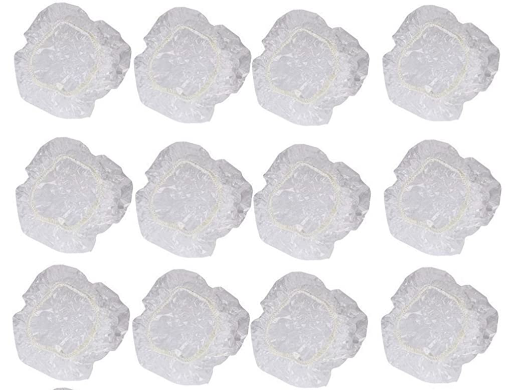 怪しい実用的イヤーカバー イヤーキャップ 12枚 6ペアセット ( ヘアカラー や水濡れ防止に保護に )