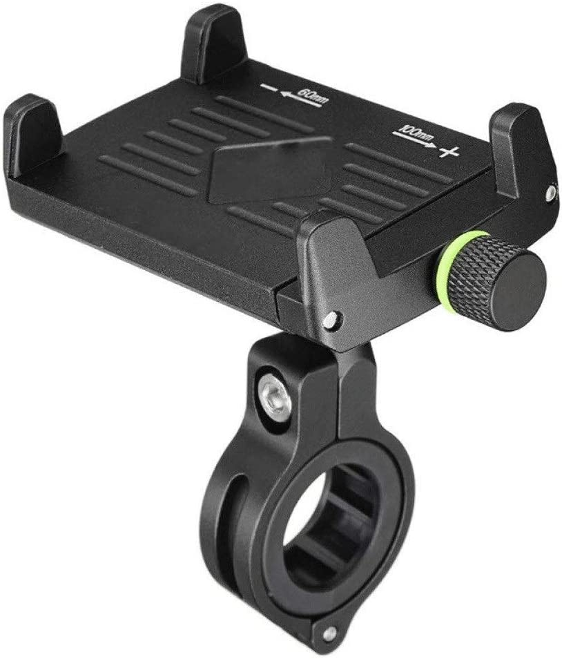 SSMDYLYM New Bike Phone Mount with An Stainless Arms Atlanta Mall Clamp Steel Milwaukee Mall