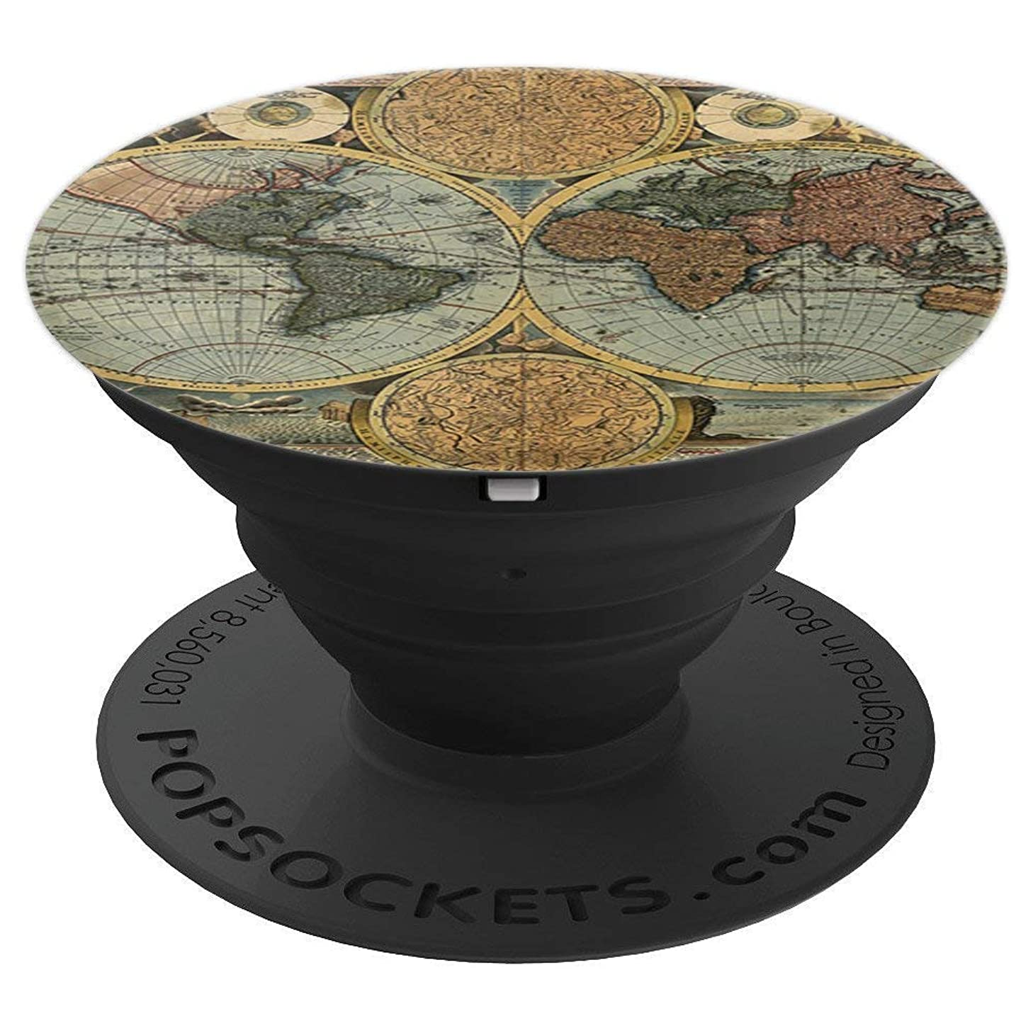 Pop Socket Popsockets World Map Mount Holder - PopSockets Grip and Stand for Phones and Tablets