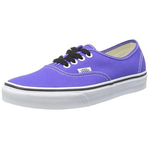5c0dc24cbb6c77 Vans Men s Authentic Spectrum Purple True White VN-0TSV922