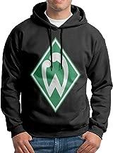 Jyurby67rgk Men SV Werder Bremen Logo Customized Causal 100% Cotton Hoodies