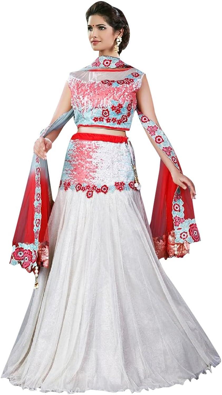 Bridal Women Collection Lehenga Choli Dupatta Ceremony Wedding Punjabi 616 8
