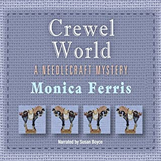 Crewel World audiobook cover art
