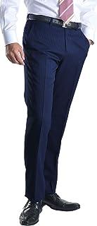 【MARUTOMI】スラックス スリム メンズ ノータック ローライズ ウォッシャブル クールビズ COOLBIZ オールシーズン 洗える パンツ ストレッチ きれいめ オールシーズン 細身 美脚パンツ pants PSB54