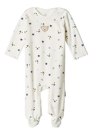 Schlafoverall Steiff Jungen Nicki Schlafanzug 0-2 Monate Strampler gr 56
