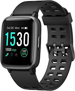 Smartwatch VAUGHAN with 14+day Battery Life | 50m Waterproof, Full Touch Screen, Call & Message Reminder Smart Watch Fitne...