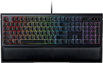 Razer Ornata Chroma - Revolutionary Mecha-Membrane RGB Gaming Keyboard with Individually Backlit Mid-Height Keys -   Wrist Rest - Ergonomic Design