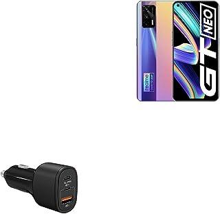 Carregador de carro para Realme X7 Max (carregador de carro da BoxWave) - Carregador de carro SwiftCharge PD QC4.0 Plus (6...