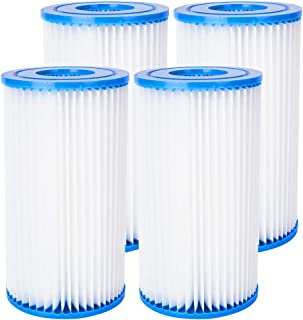 LFDecor Big Blue Pleated Sediment Water Filter Replacement Cartridge Whole House Filter Suit for Household Appliances