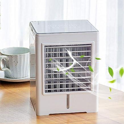 YUN FAN@ Mini Air Cooler Luftk/ühler Mobile Klimager/äte Wasserk/ühlung Zimmer Raumentfeuchter Ventilator Raumluftk/ühler Luftreiniger Tragbarer,A