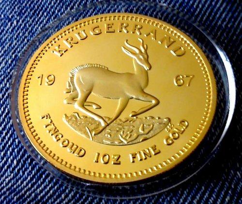 xinzhi GEDENKMÜNZE Souvenir Münze nützlichen Vergoldet Krugerrand Geschenk