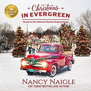 Christmas in Evergreen audiobook cover art