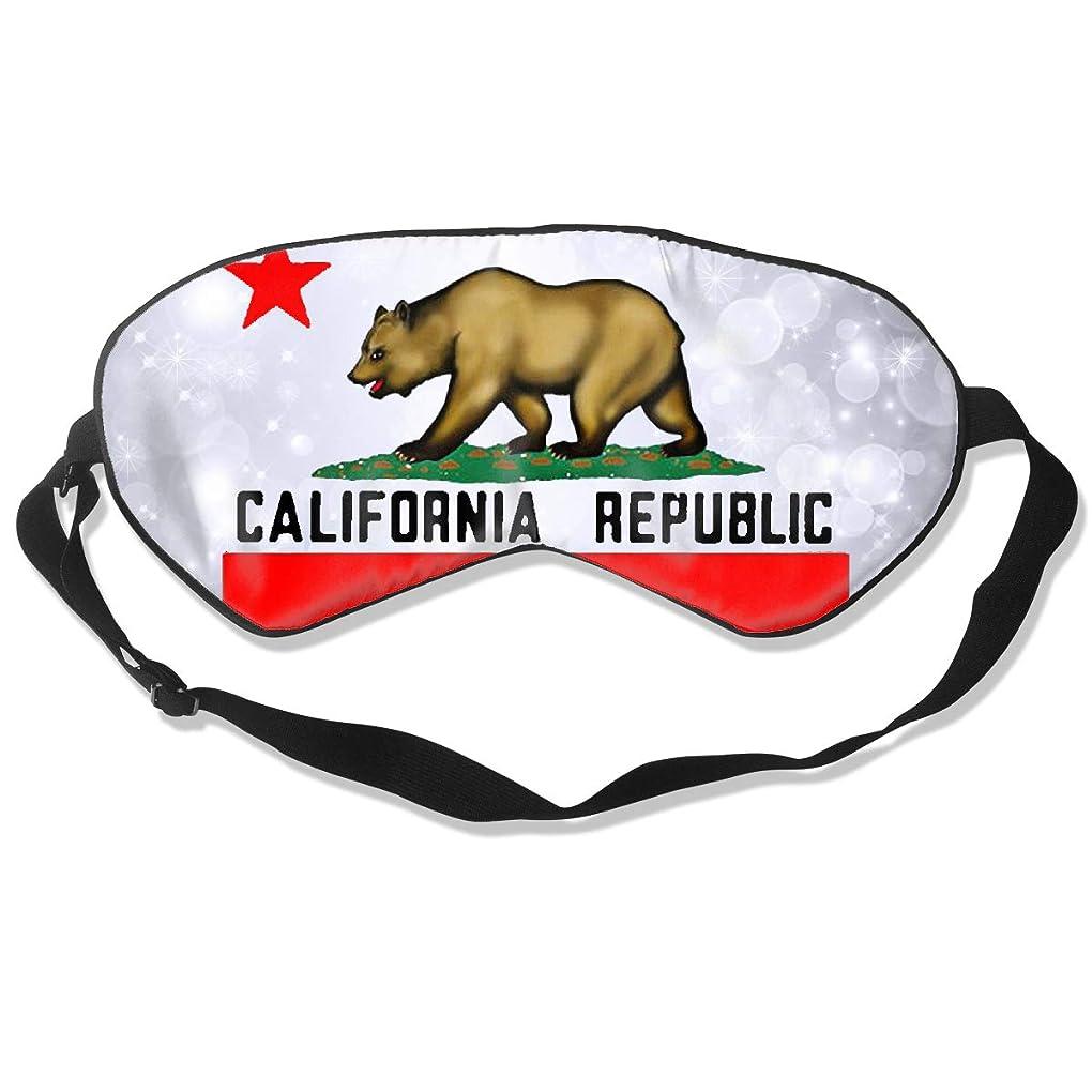 綺麗なトラフピストンカリフォルニア州 ユニセックス アイマスクカバー アイシェード 睡眠マスク 目隠しアイパッチ 調整可能 ヘッドストラップ にとって 旅行 昼寝 瞑想