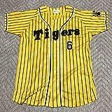 阪神タイガース 金本知憲 レプリカユニフォーム ジャージ イエロー 黄色 Mサイズ