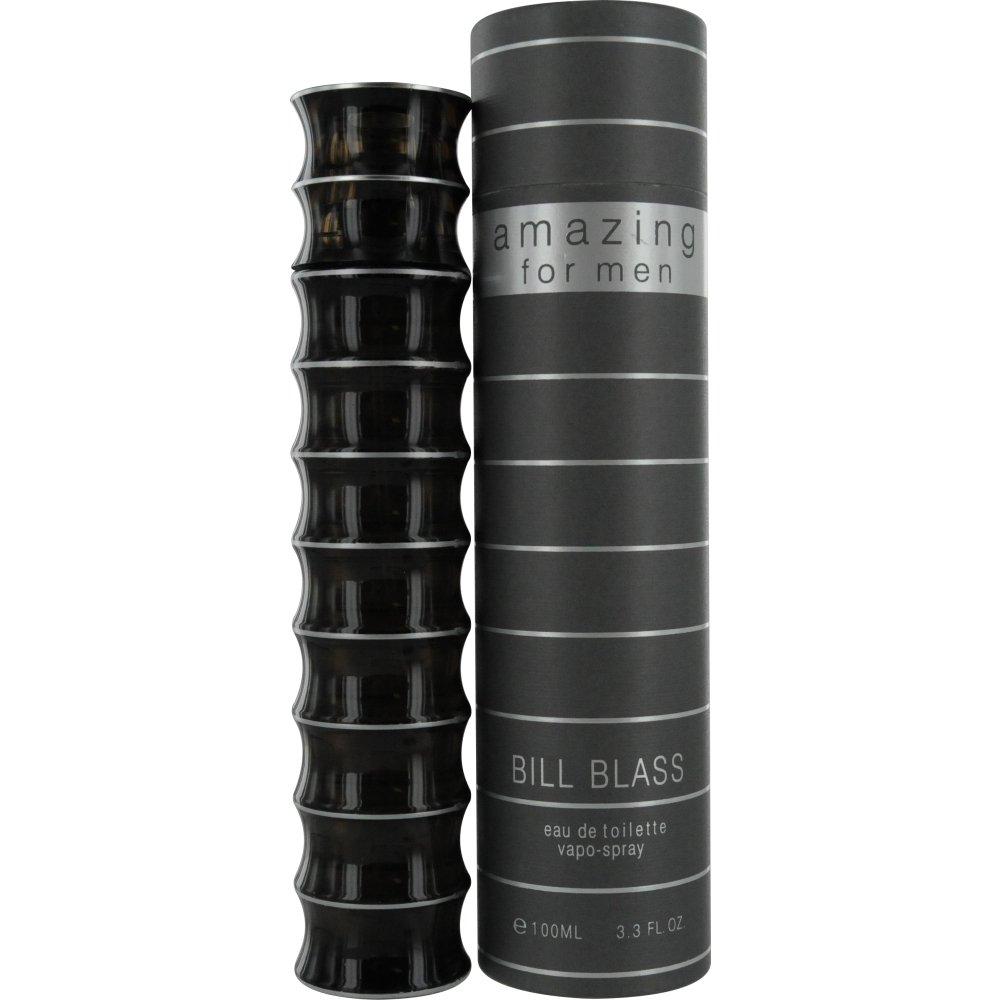 Bill Blass Amazing Eau De Toilette Spray for Men, 3.3 Ounce
