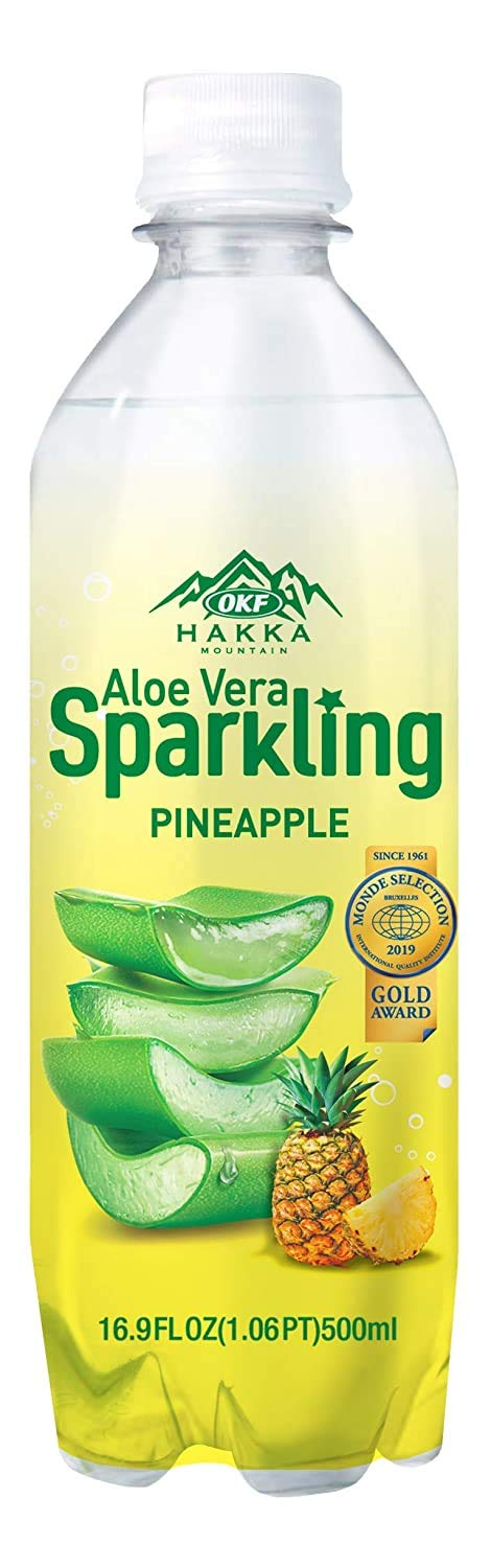 OKF Aloe Manufacturer OFFicial shop Topics on TV Vera Sparkling Carbonated Mineral and R Drink Healthy