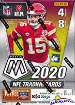 2020 Panini MOSAIC NFL Football EXCLUSIVE Factory Sealed Retail Box with 4 MOSAIC PARALLELS!Look for ROOKIES & AUTOS of J...