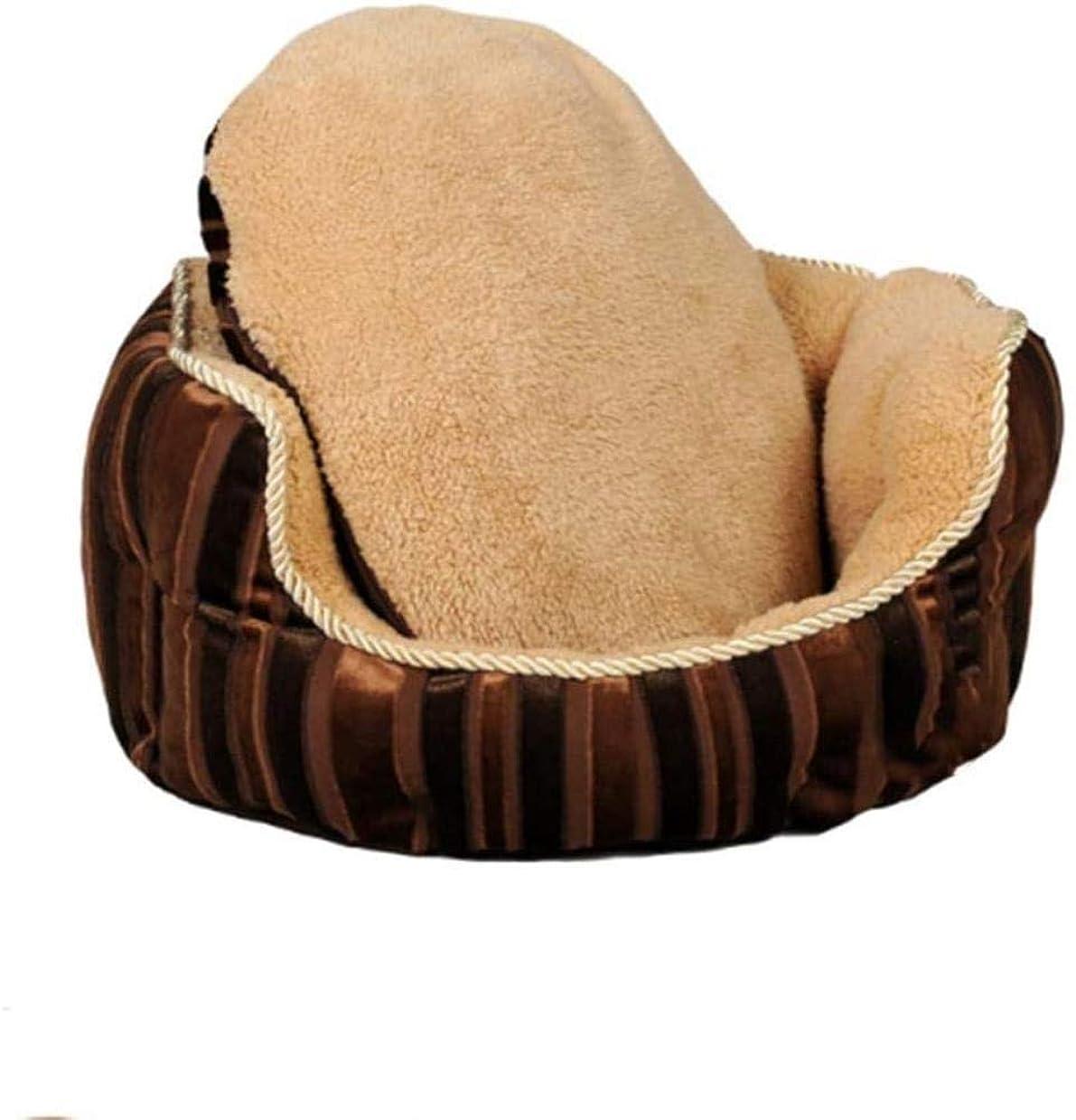 ディスコ旋律的ドナーFANPING リムーバブルケンネル大型犬ペットの犬小屋テディライオンゴールデンレトリバーソファケンネル犬のベッド冬の犬小屋犬のマット (Size : 75*70*26cm)