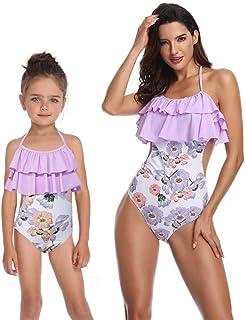 9c37ac2a4eae Costume da Bagno per Bambina, Mamma e Me Costume Intero per Bambina Costumi  da Bagno