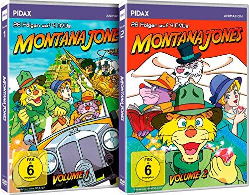 Montana Jones - Gesamtedition / Die komplette Anime-Abenteuerserie auf 8 DVDs (Pidax-Animation)