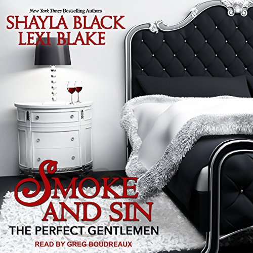 Smoke and Sin audiobook cover art