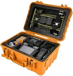 Thincol Fusionadora de Fibra Optica,100-240V Soldadora de Fibra óptica FS-60C Que empalma la Fibra óptica de la fusión de la máquina para SM, MM, NZ-DS,Tipos de Fibra óptica autodefinidos(Us Plug)