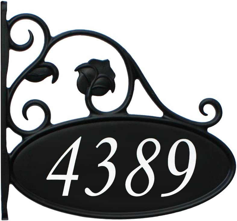 Address America Quantity limited Park Place Double-Sided Super Special SALE held Reflective Sig Lamppost