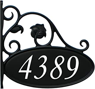 Address America Park Place Double-Sided, Reflective Lamppost Sign