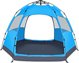 BATTOP 4 Person Tent for Camping Double Layer Family...