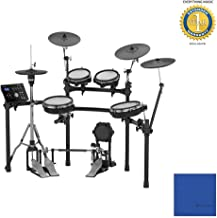 Roland TD-25KV V-Drums Electronic Drum Kit with Microfiber and 1 Year Everything Music Extended Warranty