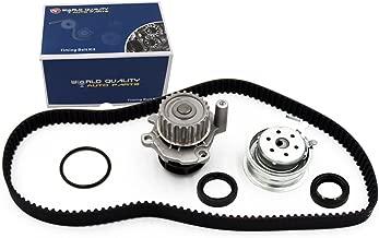 Timing Belt Water Pump Kit fits for 1998-2005 Volkswagen Beetle, 1999-2006 VW Golf, 1999-2005 2011-2012 VW Jetta 2.0L L4 SOHC