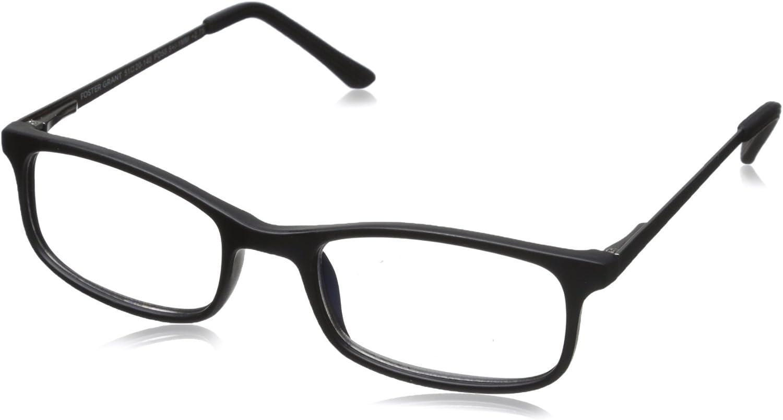 Foster Grant Men's Kramer e.Reader Animer and price revision Reading Glasses Branded goods