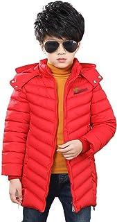 [チューカー] キッズアウター 秋冬 コート キルティング 中綿ジャケット 軽量 ブルゾン フード付き ジャンパー ジッパー オーバーコート 防寒ウェア スタジャン 厚手 ぽかぽか