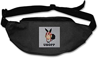 Fanny Pack For Women Men Usopp Playboy Bunny Waist Bag Pouch Travel Pocket Wallet Bum Bag For Running Cycling Hiking Workout