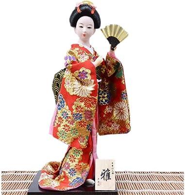 Amazon.com: HY&DD Muñeca, Geisha, Muñeca Kimono, Restaurante ...