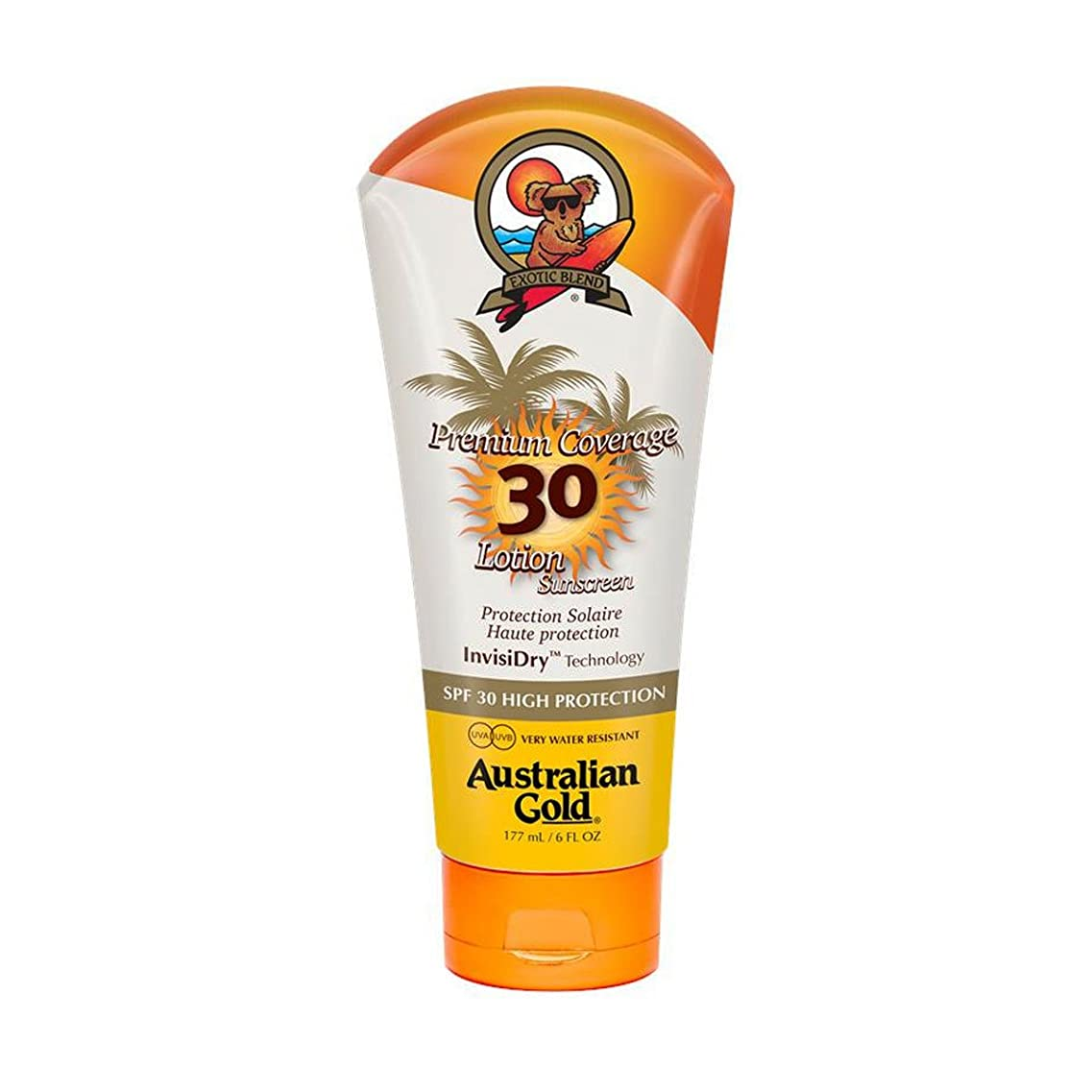 震えサーマルママAustralian Gold Premium Coverage Lotion Spf30 177ml [並行輸入品]