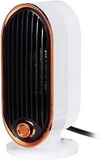 Calentador De Ventilador, Eficiente Termostato Ajustable De 700 W Mini Calentador De Ventilador Eléctrico Escritorio De Invierno Calefacción De Hogar Estufa Radiador Calentador Máquina