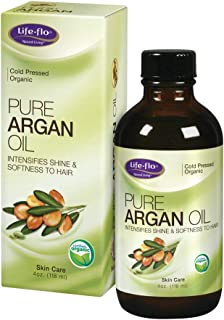 Life-flo Pure Argan Oil   Organic and Cold Pressed   Intensify Hair Shine and Softness & Minimize Split Ends   Skin Moistu...