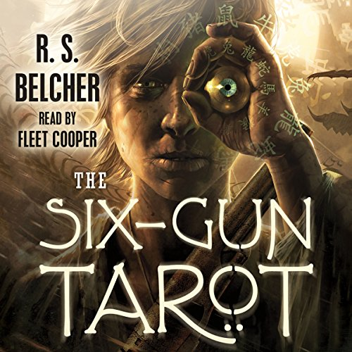 Page de couverture de The Six-Gun Tarot