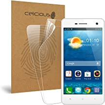 Celicious Vivid Invisible Glossy HD Screen Protector Film Compatible with Oppo R819 [Pack of 2]