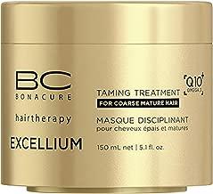 كريم تنعيم الشعر إكسيليوم بـالعناصر كيو 10+أوميغا 3 من بي سي بوناكيور، 150 مل (قطعتين), Single 5.07-Ounce