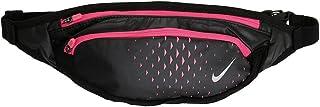 Nike Cintura de gran capacidad negro/rosa hiper plata/equipo deportivo deportivo
