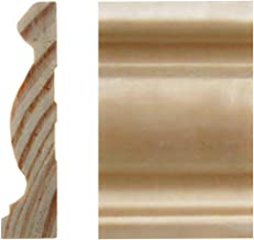 MAOS 5/8in x 2-1/2in x 7'ft Pine Finger-Joint Casing Moulding (6-Pieces)