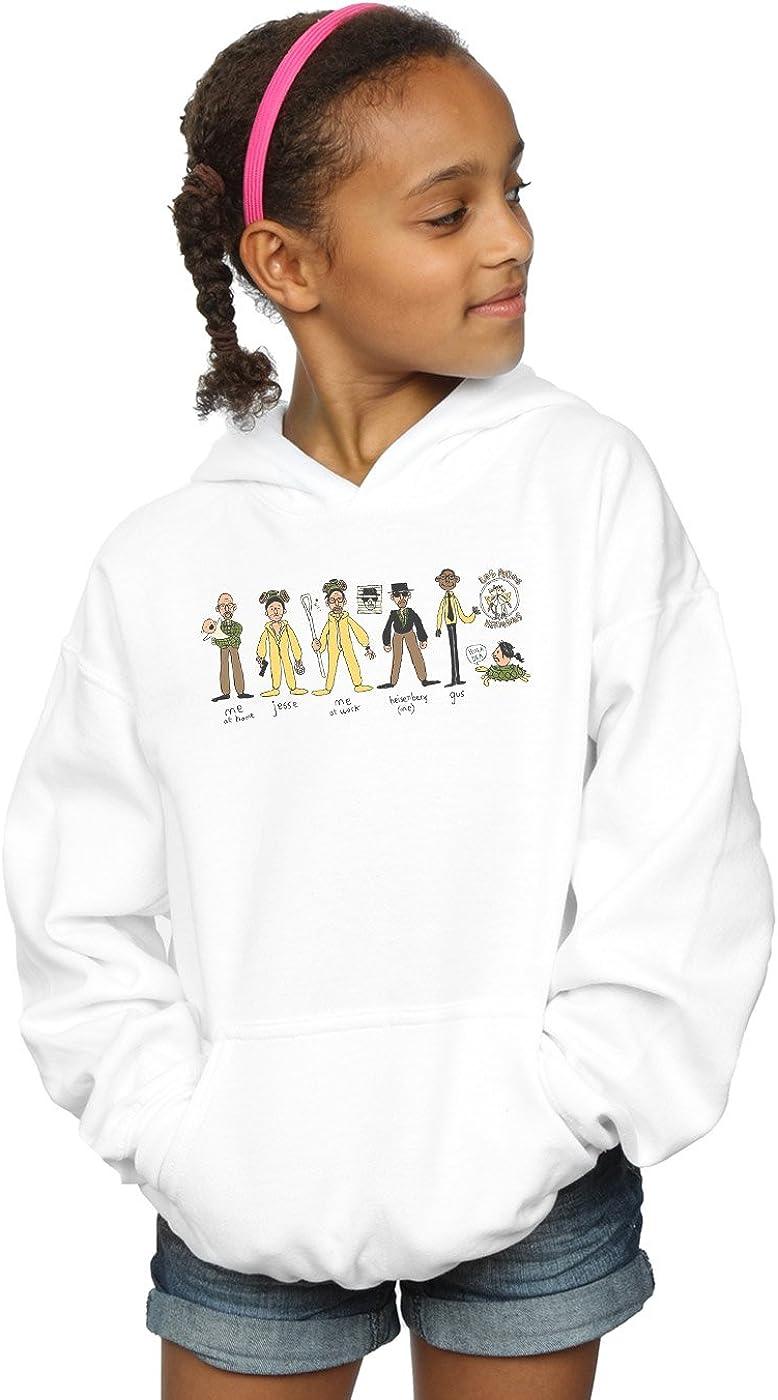 ABSOLUTECULT Alex Chenery Girls Heisenberg Doodle Hoodie