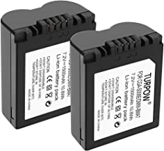 Turpow CGA-S006E / DMW-BMA7 Battery [ 2 Pack 1500mAh 7.2V ] Replacement Battery Compatible with Panasonic Lumix DMC-FZ7 DMC-FZ8 DMC-FZ18 DMC-FZ28 DMC-FZ30 DMC-FZ35 DMC-FZ38 DMC-FZ50 Digital Camera