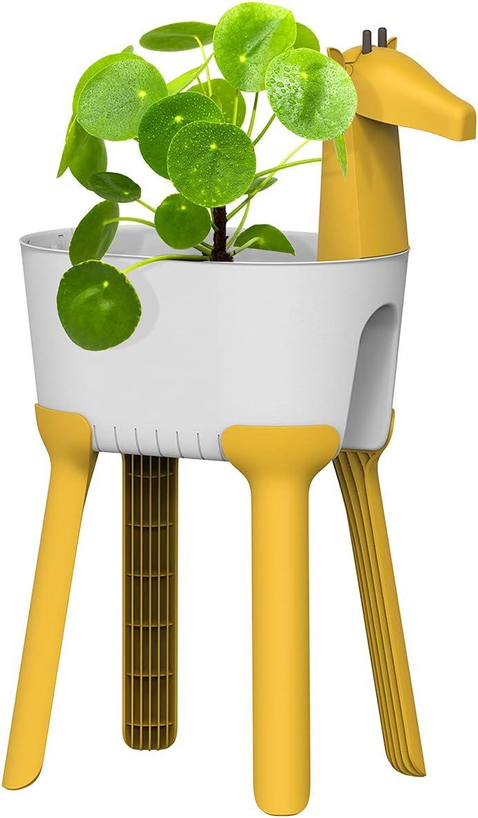 9. Indoor/Outdoor Giraffe Planter