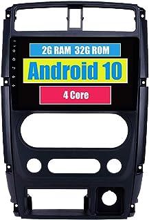 RoverOne Autoradio GPS für Suzuki Jimny 2007 2013 mit Android Multimedia Player Navigation Radio Stereo Touchscreen Bluetooth WiFi USB Mirror Link